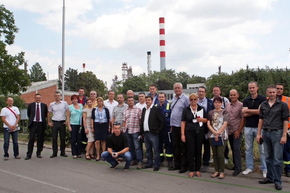 Sastanak Rafinerija nafte Pančevo